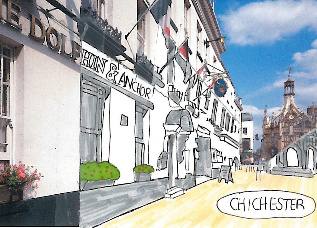 009a - Chichester in almost monochrome