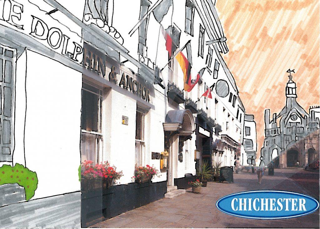 009b - Chichester in almost monochrome