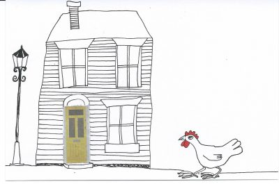 31_365.3 chicken hurries home
