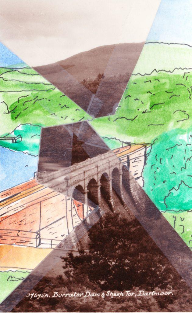 021a - Burrator Dam and Sheep Tor Dartmoor