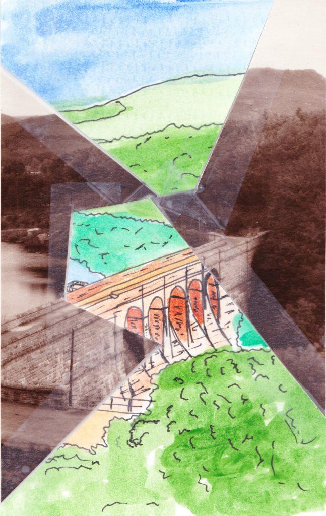 021b - Burrator Dam and Sheep Tor Dartmoor