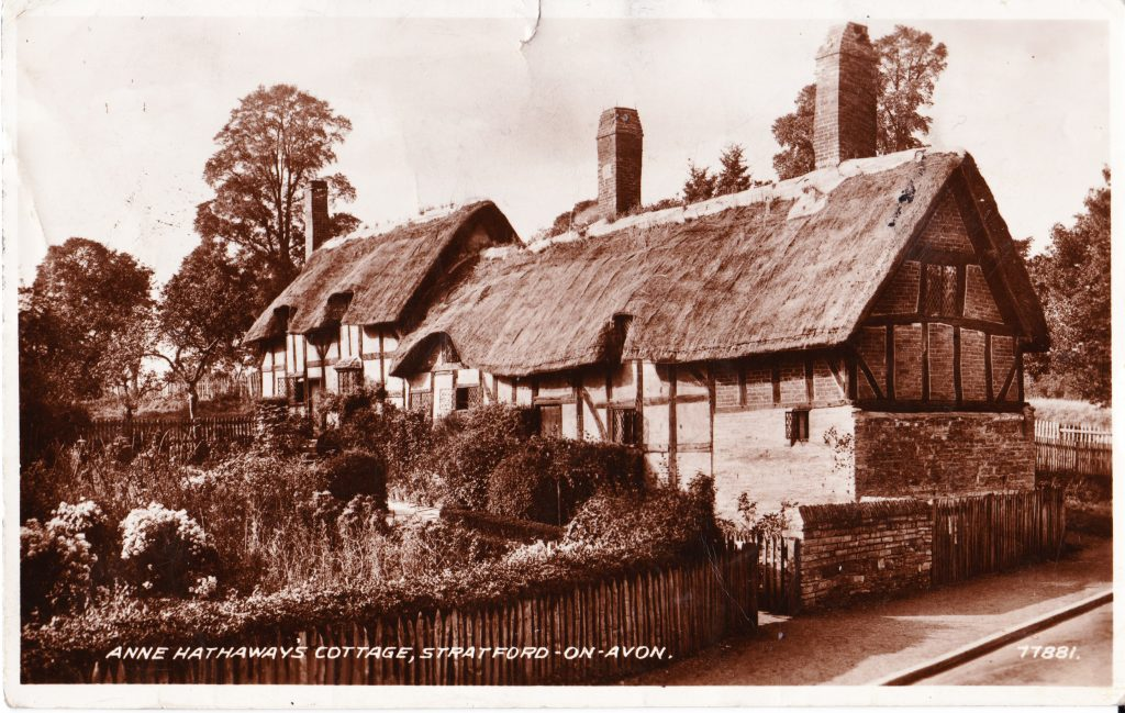 023 - Anne Hathaways Cottage Stratford on Avon original