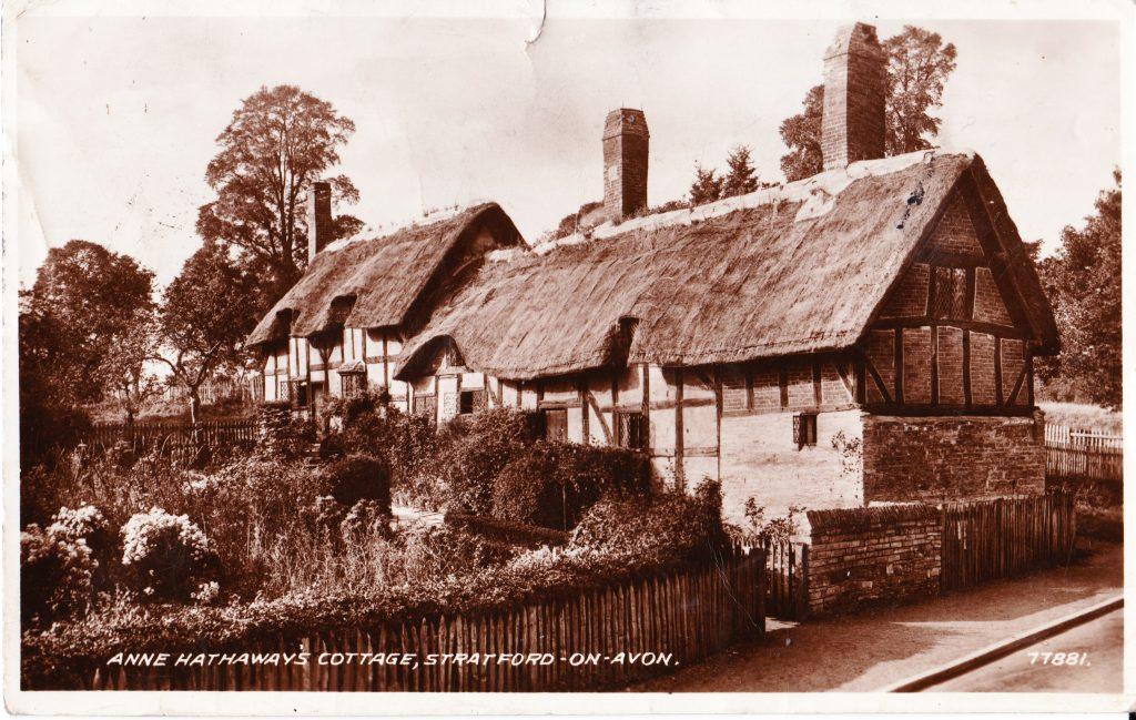 023 - Anne Hathaways Cottage Stratford on Avon original