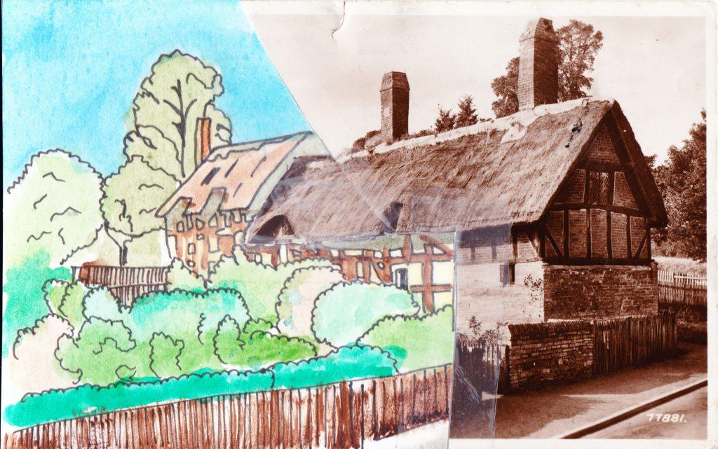 023b - Anne Hathaways Cottage Stratford on Avon