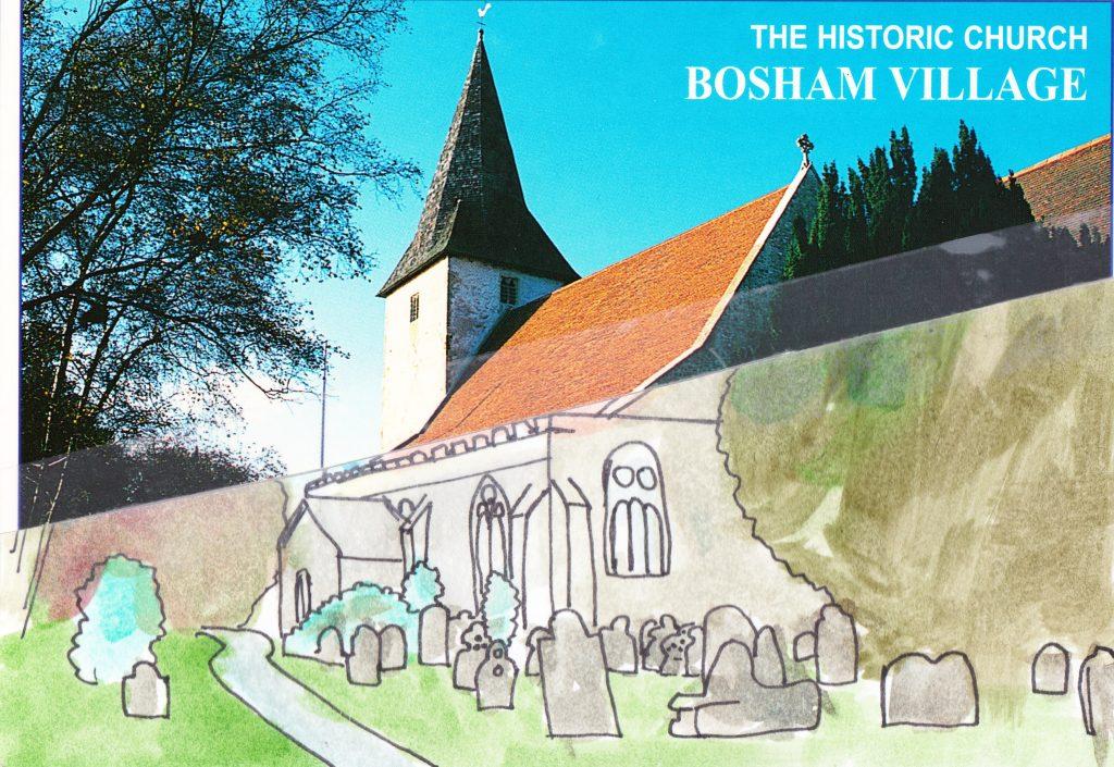 024a - The historic Church Bosham Village