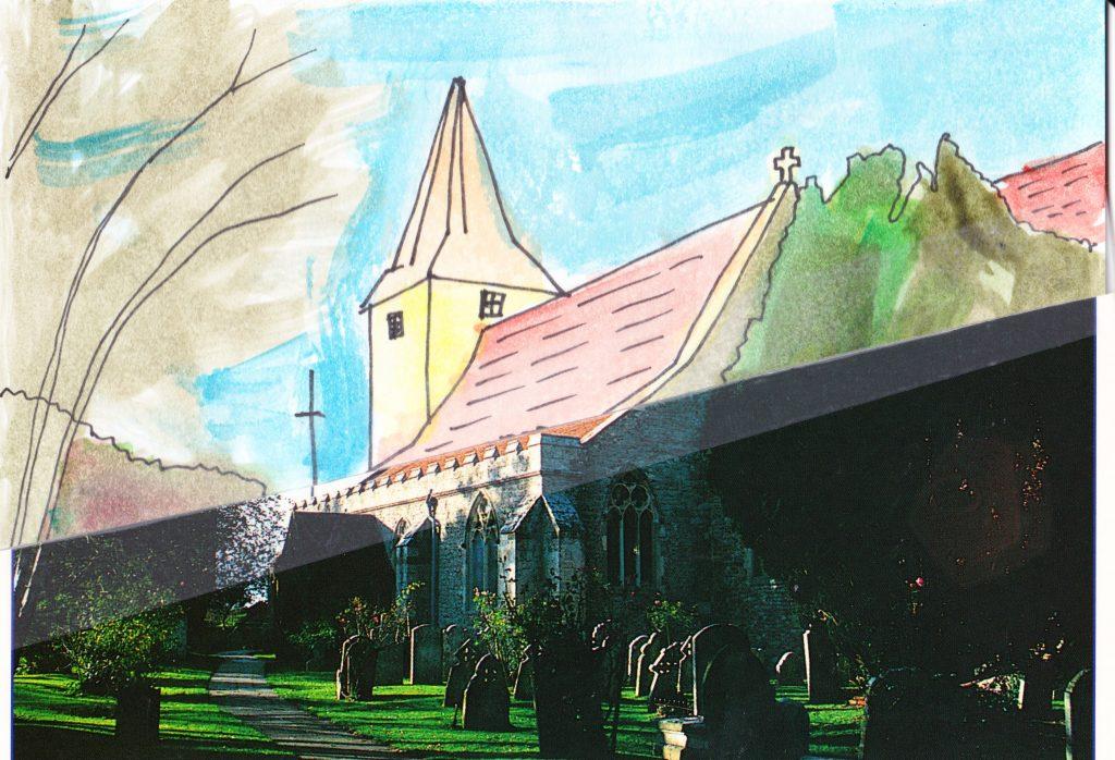 024b - The historic Church Bosham Village