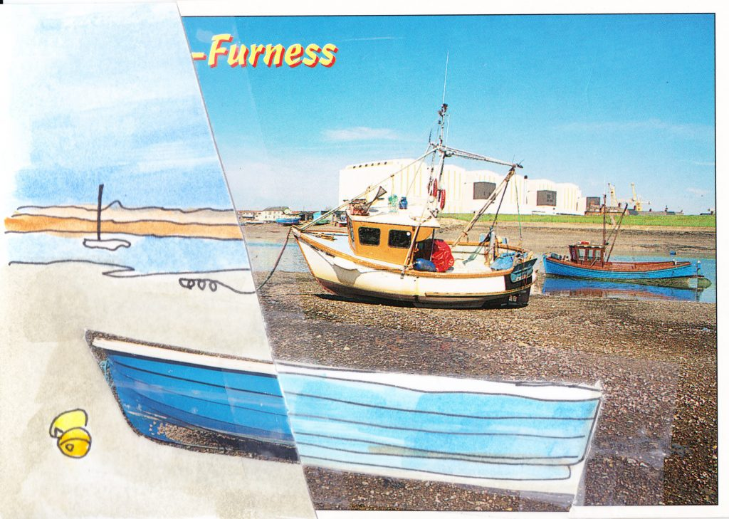 030b - View across Walney Channel Barrow in Furness Cumbria
