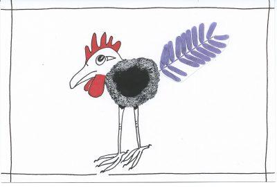 63_365.3 long-legged ink-blot chicken
