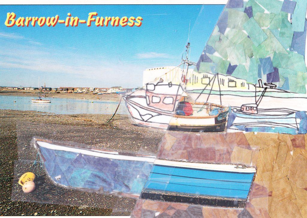 035b - View across Walney Channel Barrow in Furness Cumbria