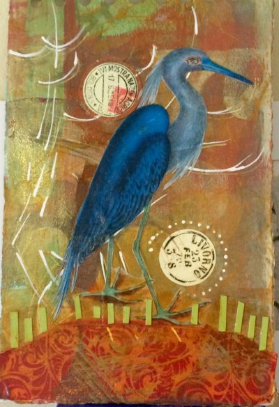 Blue Bird In